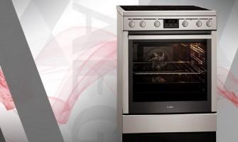 Κουζίνα Κεραμική AEG 347056V-MN Inox Α