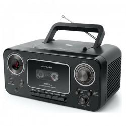 Ραδιόφωνο - Κασετόφωνο - CD Player - Muse M182RDC Μαύρο