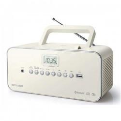 Ραδιόφωνο - CD Player - Muse M30BTN Λευκό