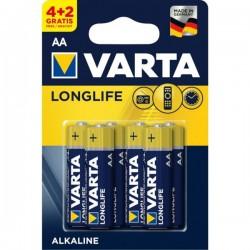 Αλκαλικές Μπαταρίες Varta 4106 Longlife AA