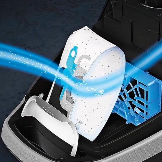 Ηλεκτρική Σκούπα με σακούλα Siemens VSC7SIL1 Σκούπες - Euronics Γεωργίου - Είδη Ηλεκτρικών Συσκευών | georgiou.gr