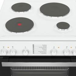 Ηλεκτρική Κουζίνα Pitsos PHA009020 Λευκό