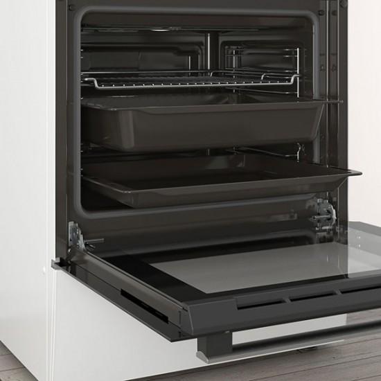 Ηλεκτρική Κουζίνα Pitsos PHA009020 Λευκό  - Euronics Γεωργίου - Είδη Ηλεκτρικών Συσκευών | georgiou.gr