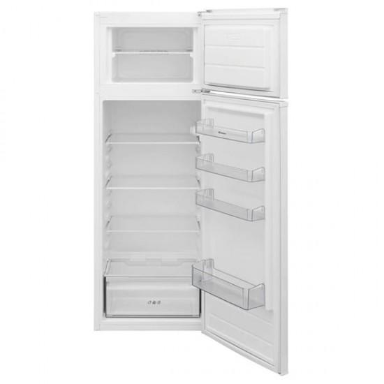 Δίπορτο Ψυγείο Candy CVDS 5162W Λευκό Δίπορτα Ψυγεία - Euronics Γεωργίου - Είδη Ηλεκτρικών Συσκευών   georgiou.gr