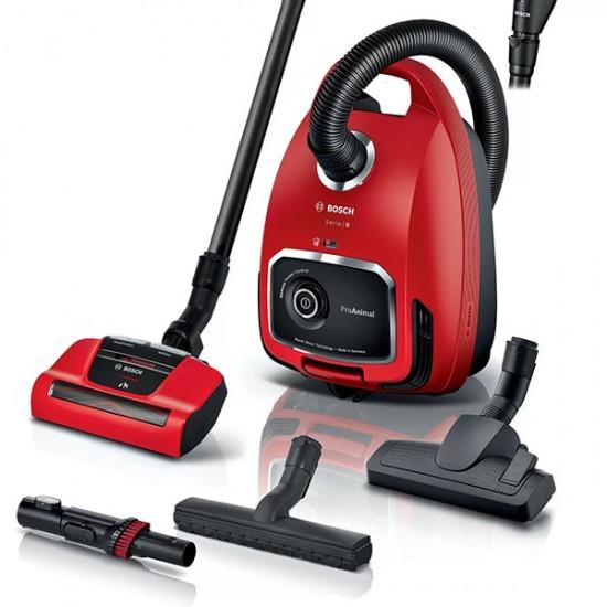 Ηλεκτρική Σκούπα ProAnimal Bosch BGL6PET1 Κόκκινο  Σκούπες - Euronics Γεωργίου - Είδη Ηλεκτρικών Συσκευών | georgiou.gr