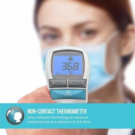 Homedics - No touch Θερμόμετρο Υπερύθρων Μετώπου  - Euronics Γεωργίου - Είδη Ηλεκτρικών Συσκευών | georgiou.gr